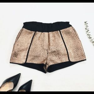 Lux Gold Shorts